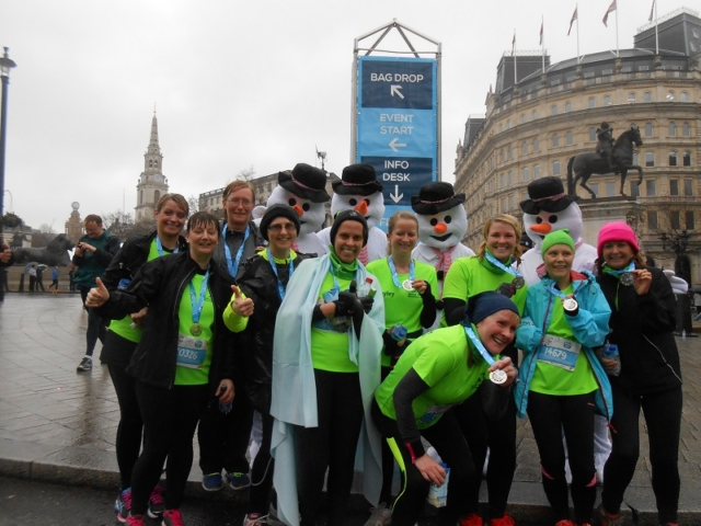 London Winter Run 10k 2016
