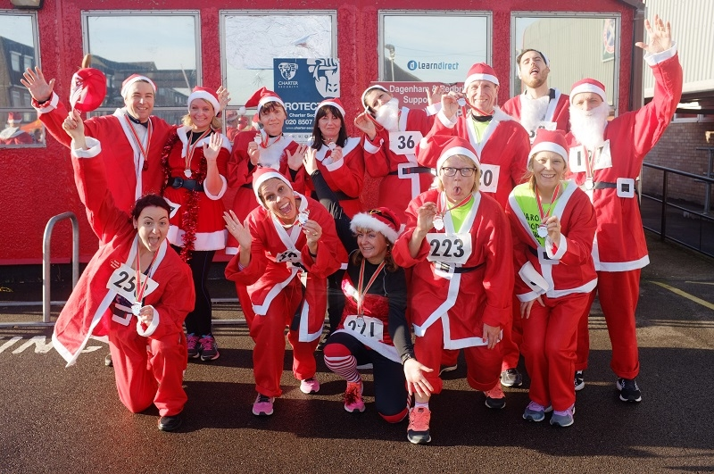 Santathon 5k Run 2016