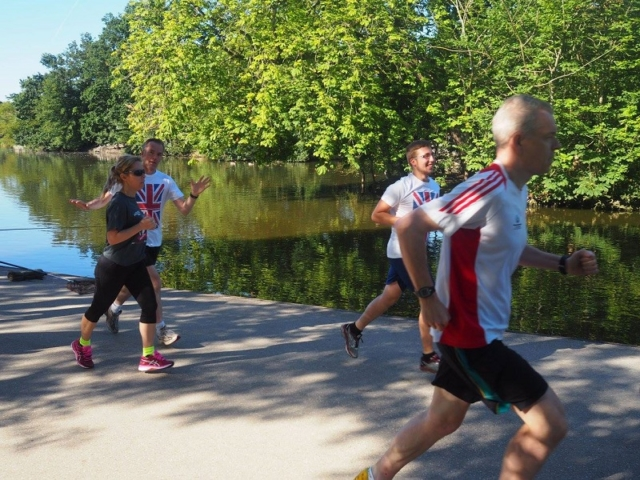 Olympic Themed - Parkrun 2016