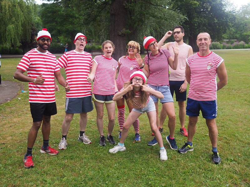 Where's Wally - Parkrun 2016