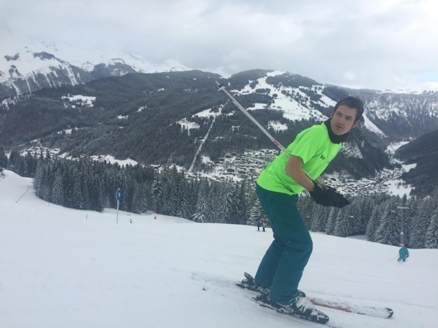 Kevin - Morzine, French Alps
